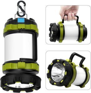 5. Wsky Rechargeable Camping Lantern Flashligh