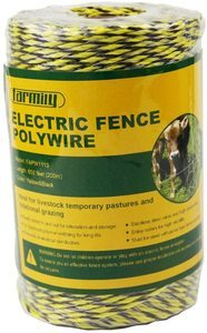 #6. Farmily Electric Polywire Fence, Portable, 656 200 Meter
