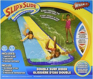 6. Wham-O Slip 'N Slide Surf Rider Double Sliding Lanes 16ft