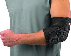 7. Mueller Adjustable Elbow Support, One Size Fits Most