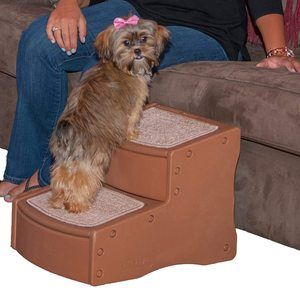#7. Pet Gear Easy 2-Step Pet Stairs, for Dogs and Cats up to 75-pounds