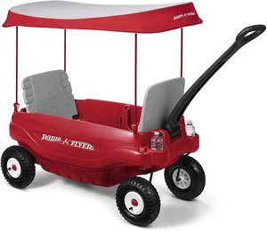 7. Radio Flyer Deluxe All-Terrain Family Wagon Ride On7. Radio Flyer Deluxe All-Terrain Family Wagon Ride On