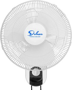 #7. Simple Deluxe Wall Mount Fan-16-Inch - 3 Speed