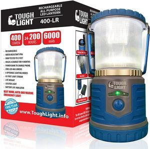 7. Tough Light LED Rechargeable Lantern
