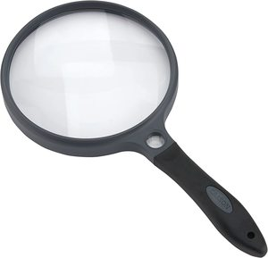8. Carson SureGrip Series 2x Power Magnifying Glasses