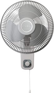 #8. Lasko M12900 12 inch Oscillating Wall Mount Fan