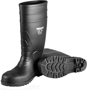 8. TINGLEY Men's PVC Steel Toe 15 Knee Boot