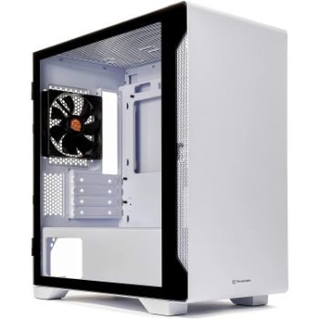 8. Thermaltake S100 Tempered Glass Mini-Tower Computer Case