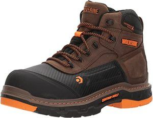 8. Wolverine Men's Overpass Composite Toe Waterproof Work Boot