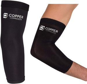 9. Copper Compression Recovery Elbow Sleeve (XL)