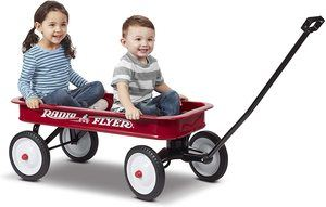 9. Radio Flyer Classic Red Wagon
