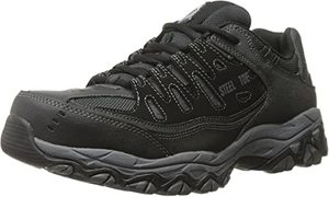 9. Skechers for Work 77055 Cankton Athletic Steel Toe work sneaker