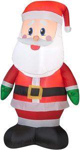 1. Gemmy 36789 Airblown Outdoor Santa