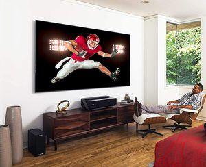 1. Hisense 100-inch 4K Ultra HD Smart Laser TV