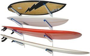 1. StoreYourBoard Metal Surfboard Storage Rack