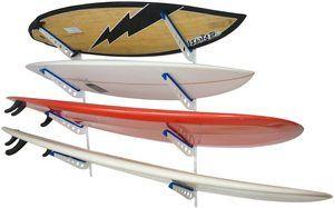 1. StoreYourBoard Metal Surfboard Storage Rack