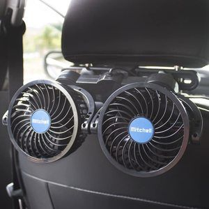 1. poraxy 12V Electric Auto Cooling Fan