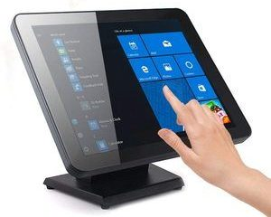 10. Capacitive LED-Backlit Multi-Touch Monitor, 17 inches