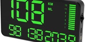 10. Kingneed Digital Universal GPS HUD Speedometer