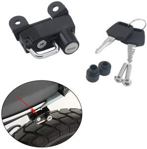 10. Motorcycle Helmet Lock Anti-Theft –Black