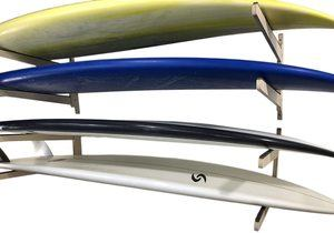 10. Steve's Rack Shack Indoor Outdoor Surfboard Storage Rack