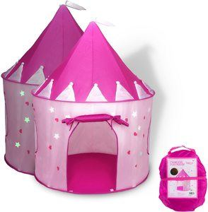 2. FoxPrint Princess Castle Play Tent, for Indoor & Outdoor Use