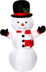 2. Gemmy Airblown Inflatable Snowman