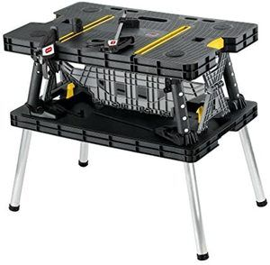 2. Keter Folding Table Work Bench