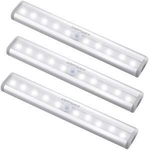 2. URPOWER Motion Sensor Light, 10 LED Bulbs