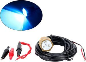 3. Amarine Made Blue Cree LED Underwater Light