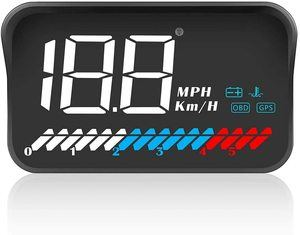 4. ACECAR Heads Up Display Car Universal Dual System