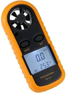 4. Amgaze Handheld DigitalAnemometer with LCD Backlight