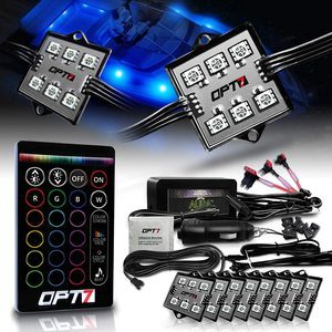 4. OPT7 Aura 8pc Boat Interior LED Lighting Kit