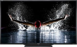 4. Sharp LC-90LE745 90-inch LED 3D HDTV