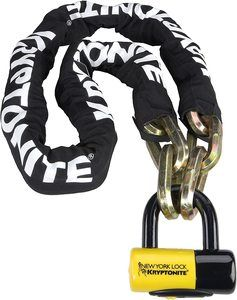 5. Kryptonite New York FAHGETTABOUDIT 1415 Chain & Disc Lock