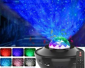 6. GeMoor Night Light Projector, Ocean Wave Projector