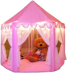 6. Monobeach Princess Tent Girls, Large Playhouse Tent