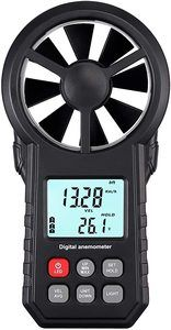 6. Proster Portable Wind Speed Meter