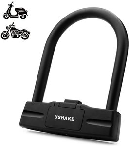6. USHAKE Bicycles Heavy Duty U Lock