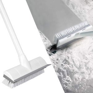 7. BOOMJOY Floor Scrub Brush with Long Handle
