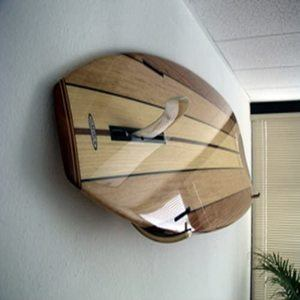 7. Brunette Surfboard Wall Rack