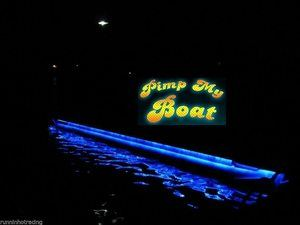8. Green Blob Outdoors Blue LED Boat Deck Lighting Kit