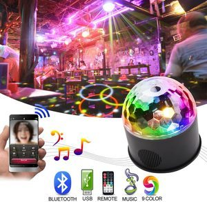 8. KOOT Disco Lights Bluetooth Speaker with Remote Control