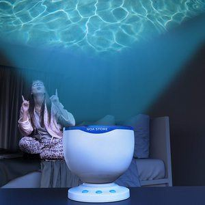 9. Calming Autism Sensory LED Light Projector
