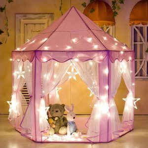 9. e-Joy Kids IndoorOutdoor Princess Castle Tent