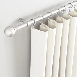#1. AmazonBasics 1-incd Diameter Curtain Rod 36 to 7