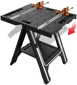 #1. WORX Pegasus Multi-Function Sawhorse and Work Table