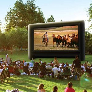 #10. 20 Feet Inflatable Outdoor Movie Projector Screen
