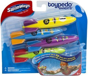 #2 SwimWays Toypedo Bandits Pool Diving Toys