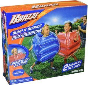 #2. BANZAI Bump N Bounce Bumpers